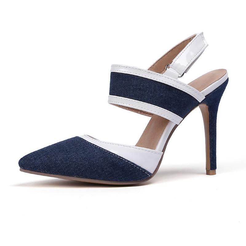 Pour 2019 De Nouveau Femme 33 Pompes Blue Talons Black Haute dark Taille Sexy light Dames Super Blue 47 Femmes Parti Mujer Zapatos Chaussures Grande Pzilae Style nPT6ZwqxW