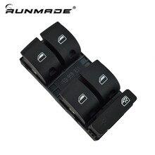 runmade For 2002-2005 Audi A4 B6 Sedan Driver Side Electric Power Window Switch Panel 8ED 959 851