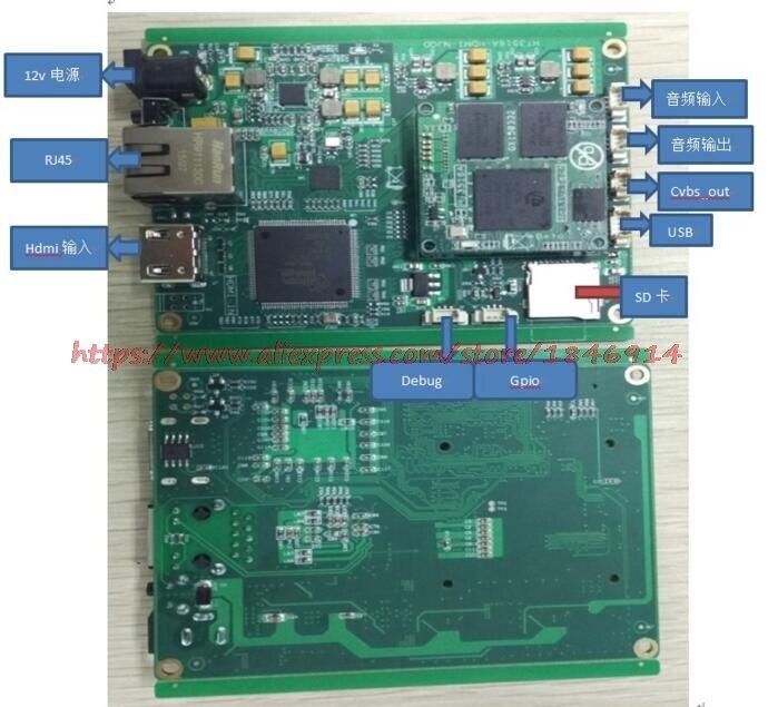 Hi3516A Development Board H.264 H.265 Coding   Hdmi Sdi Vga Cvbs Cmos