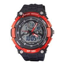 Marca de Lujo de Moda Led Reloj Digital del Relogio masculino 2016 SANDA Infantil Chicos Deporte Militar Relojes Niños Reloj Montre Homme