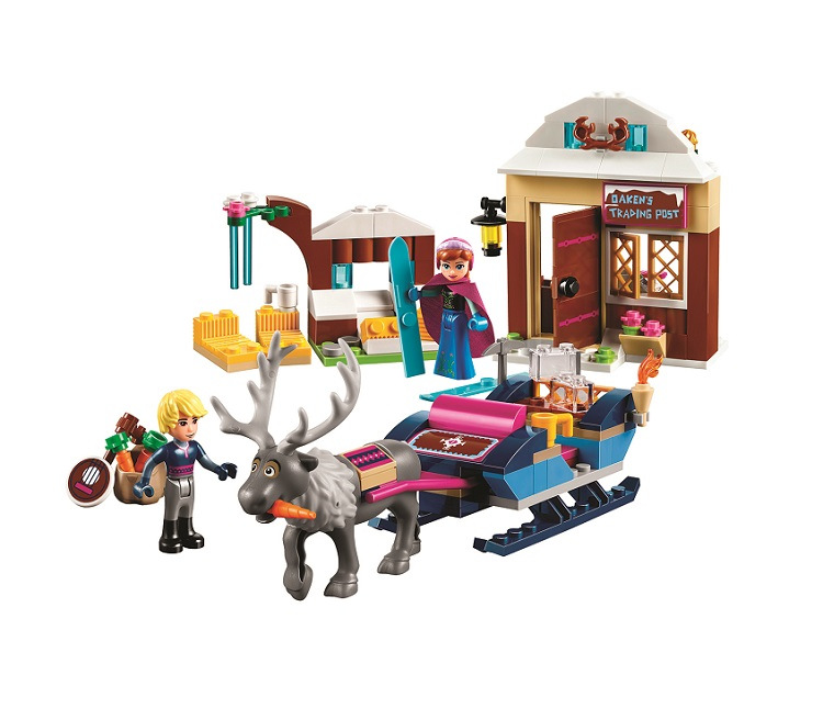 BELA Friends Anna and Kristoff's Sleigh Adventure Building Blocks Classic For Girl Kids Model Toys Marvel Compatible Legoe bela city police crook pursuit building blocks classic for girl boy kids model toys marvel compatible legoe