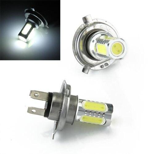 10х) 2 * на H4 туман свет лампы лампы светодиодные 5 cob свет 7,5 Вт Белый автомобиль