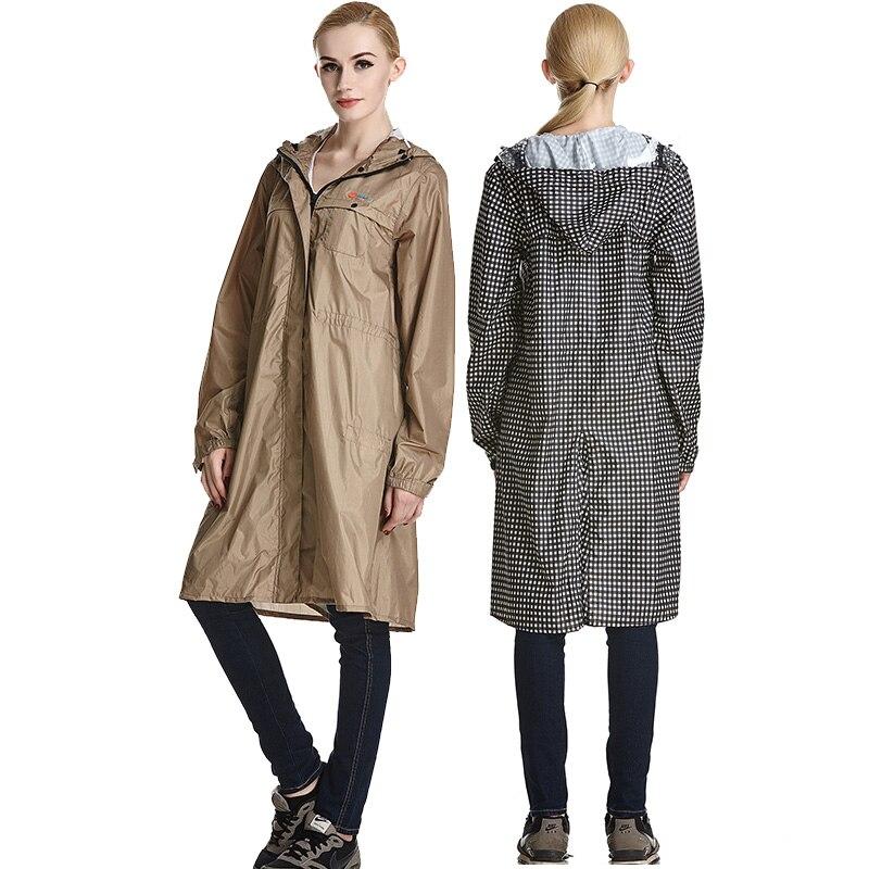 QIAN Impermeable แฟชั่นเสื้อกันฝนผู้หญิง/ชายกันน้ำ Poncho เสื้อโค้ท Rain Coat ผู้หญิงแบบพกพา Rainwear Rain เกียร์ Poncho-ใน เสื้อกันฝน จาก บ้านและสวน บน AliExpress - 11.11_สิบเอ็ด สิบเอ็ดวันคนโสด 2