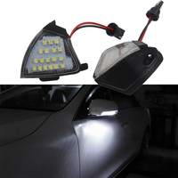Puddle Lamp LED Under Side Mirror Light Rearview Mirror Lamp Error Free Light Source 2 Pcs