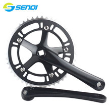 New Arrival Hollow Out 46T*170mm Single Speed Fixed Gear Cycling Track Crankset Cranks CNC DCP002 2017 new arrival japan izumi track single speed chian fix gear speed chian