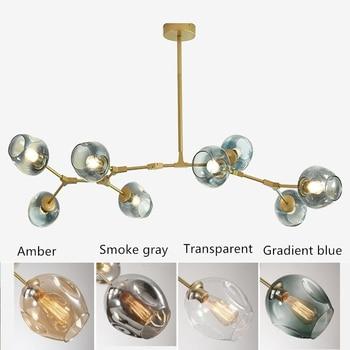 Modern Simple Nordic Hanging Pendant Light   Glass Shade Pendant Lamp E27 Home Light Fixtures Decor Luminaire Hanging Lights