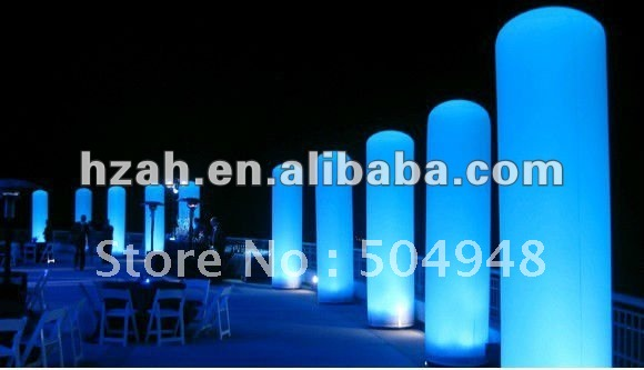 Cheap price LED Advertising Inflatable Column cheap 10w led ceiling mounted gobo projection projecteur logo advertising custom advertising projector light