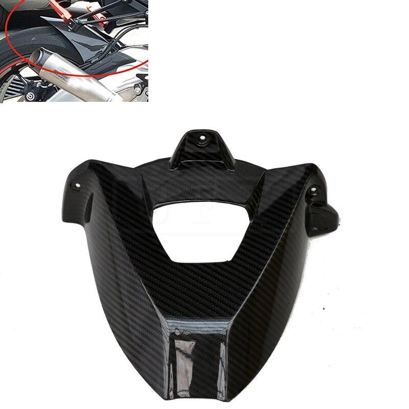Здесь можно купить  Motorcycle Carbon Fiber Rear Fender Cover Mudguard Protection Fairing Accessories For BMW S1000RR 2009 - 2017 2018 S 1000 RR 18  Автомобили и Мотоциклы