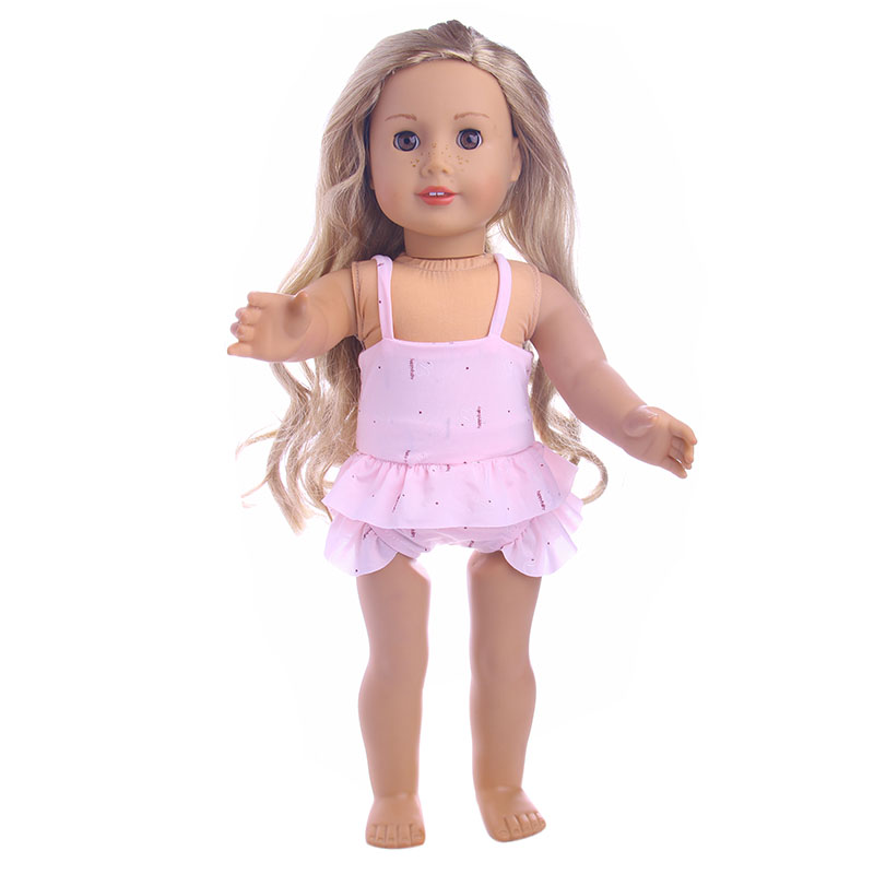 3 styles Swimsuit for 18 inch American girl doll for baby gift 43cm Baby Born zapf