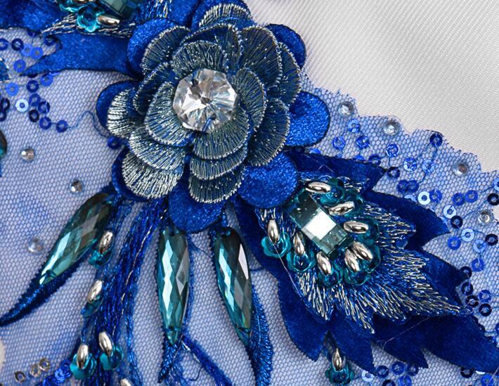 Блейзер Мужской китайский туника костюм мужские свадебные костюмы блесток певица звезда Стиль хор сцена цветок из текстиля бальное платье homme - 5