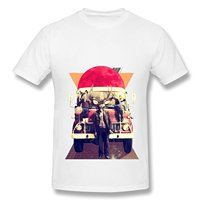 Summer Fashion Funny Tops Tee Casual Car Models Deer T Shirts For Man