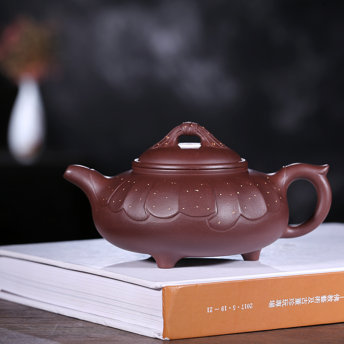 Yixing Enameled Pottery Teapot Full Manual Neon Kale Pot Purple Mud Famous Shao Li Ping Kungfu Online Teapot Tea Set WholesaleYixing Enameled Pottery Teapot Full Manual Neon Kale Pot Purple Mud Famous Shao Li Ping Kungfu Online Teapot Tea Set Wholesale