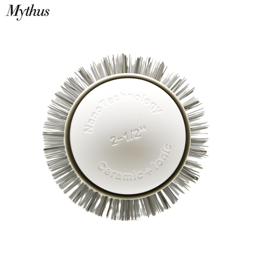 Galimi 6 dydžiai plaukų keraminiai šepetėliai Alunimium vamzdelis - Plaukų priežiūra ir stilius - Nuotrauka 5