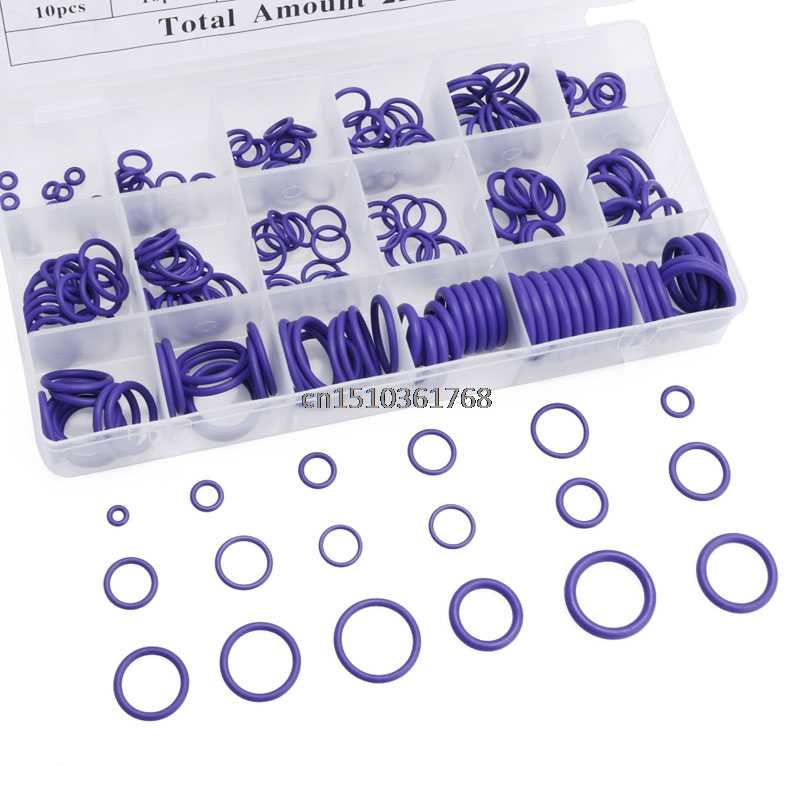 225 шт. уплотнительное кольцо R22 R134a кондиционер уплотнительное кольцо Резиновая Шайба Ассортимент PL # Y05 # C05 #