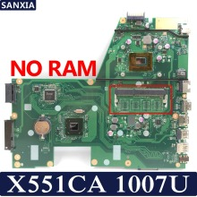 Купить с кэшбэком KEFU X551CA Laptop motherboard for ASUS X551CA X551CAP original mainboard 100%Test 1007U 1xSlot