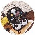 2017 Японский Стиль Большие Глаза Персонализированные Граффити Случайные Кожи Рюкзак Милый Мультфильм Мешок Школы Подросток Рюкзаки Mochila