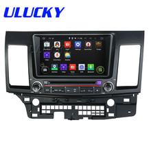 8Inch Quad Core HD1024*600 Android 5.1.1 Car DVD Player For Mitsubishi For LANCER 2006-2012 Radio Free 8GB MAP Stereo Multimedia