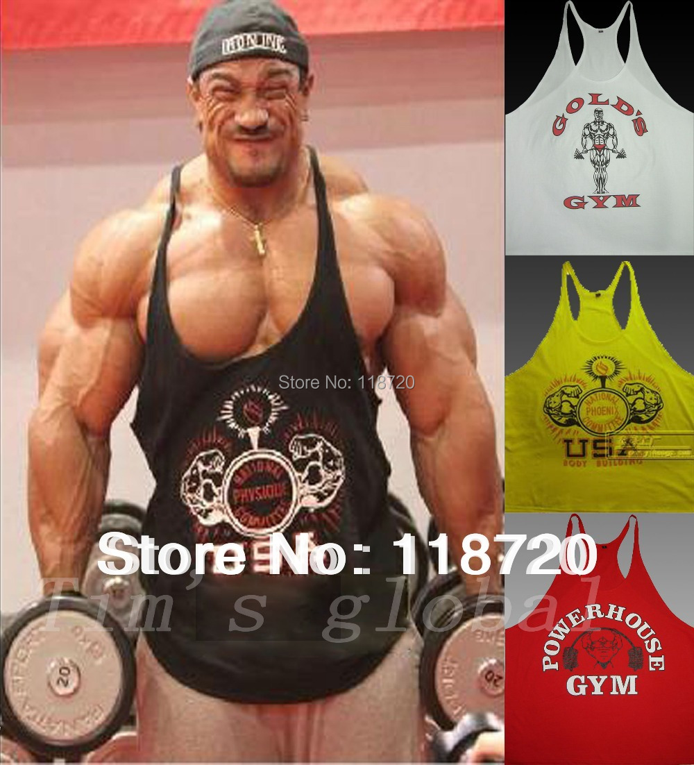 a6e7aed1166b3 C102 New 2013 Boys  World GYM Raceback Stringer Singlets Soccer Soft Cotton  Men s Bodybuilding GASP Tank Tops  Tees Vest Shirts