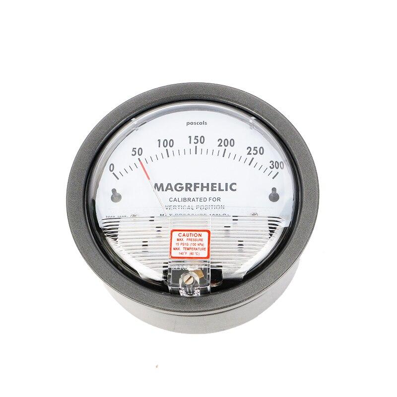 Hot Sale 0-300PA TE2000 Micro Differential Pressure Gauge High Precision 1/8