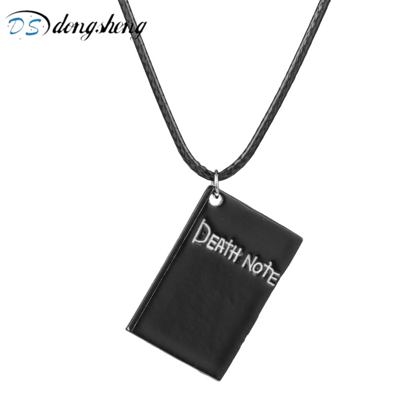 dongsheng Hot Death Note Alloy Book Pendant Necklace for