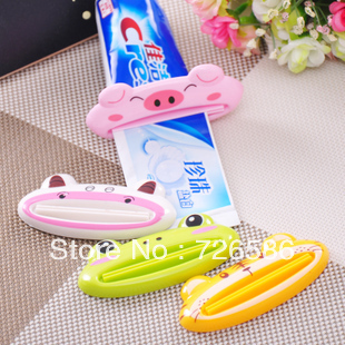Min. Order is $10 ( Can Mix order ) !Multi-function automatic toothpaste machine cute cartoon toothpaste foam cleanser squeezer