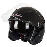 Мотоциклетный шлем Мужской Женский четыре сезона capacete para moto cicleta cascos para moto двойные линзы гоночные полушлемы
