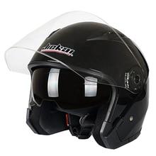 Moto rcycle Casco Maschio Femmina di Quattro Stagioni capacete para moto cicleta cascos para moto Doppia Lente DA CORSA MEZZA CASCHI