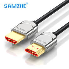 SAMZHE hdmi 2.0 cable soft thin hdmi to hdmi 4K*2K UHD 3D 0.5M 1M 1.5M 2M 3M for PS4 xbox Projector HD TV Computer Laptop