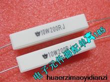 10 ШТ. в горизонтальный цемент резистор RX27 10w200rj 10 Вт 200RJ 5% новый