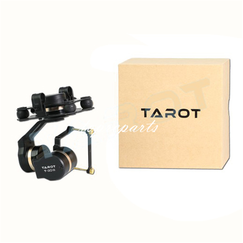 Tarot TL3T01 3Aixs Brushless Gimbal for DIY RC Drone camera Gopro HERO3 HERO4 Sport Camera Aerial Photography FPV fpv 3 axis cnc metal brushless gimbal with controller for dji phantom camera drone for gopro 3 4 action sport camera only 180g