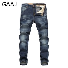 Männer Jeans Business Casual Dünne Sommer Gerade Slim Fit Blue Jeans Stretch Denim Hosen Hosen Klassische Cowboys Junger Mann #7LFC6(China)