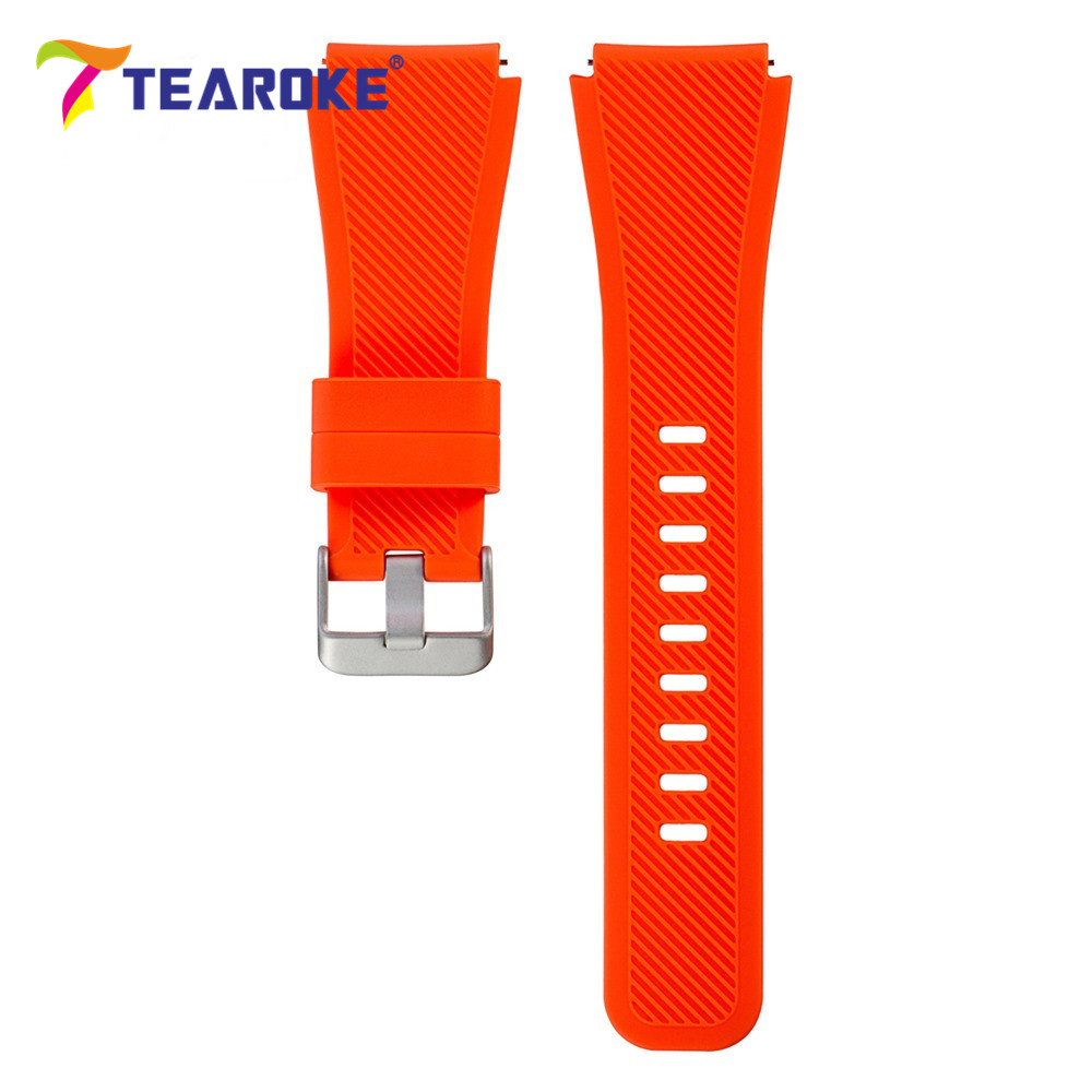 11 Possible Replacements On The View: TEAROKE 11 Color Silicone Watchband For Gear S3 Classic