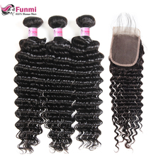 Funmi Hair Deep Wave Bundles With