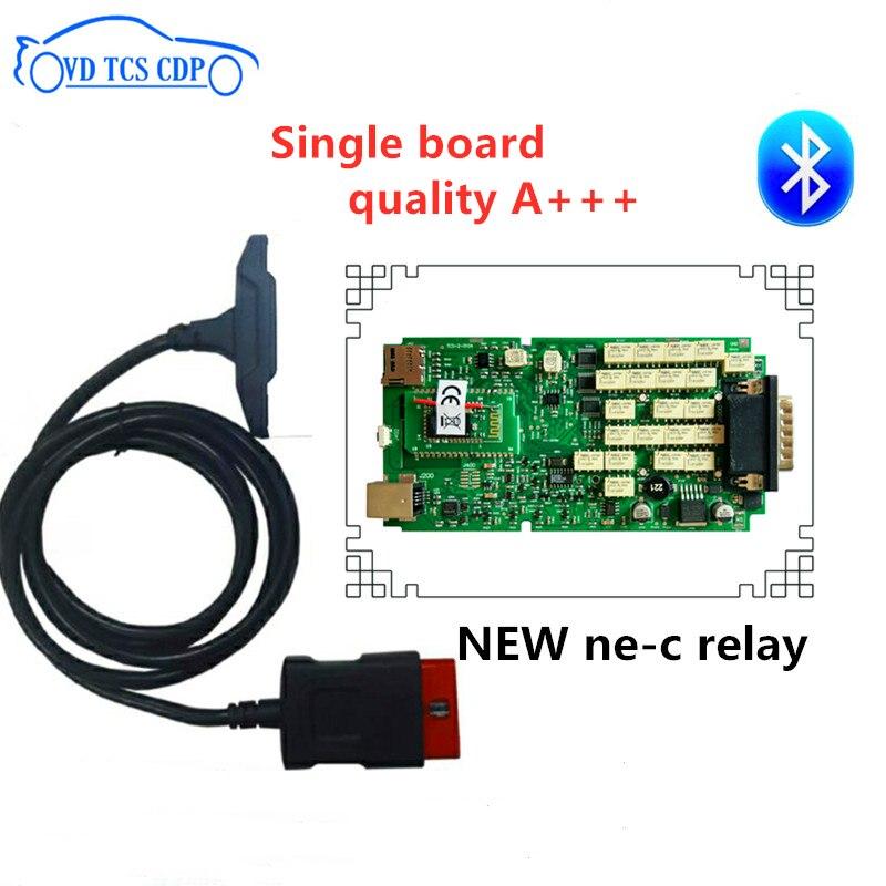 DHL 10 pcs/lot 100% nouveau relais ne-c une seule carte Bluetooth VD TCS cdp pro plus 2015.3 R3 keygen/2016 R0 gratuit actif