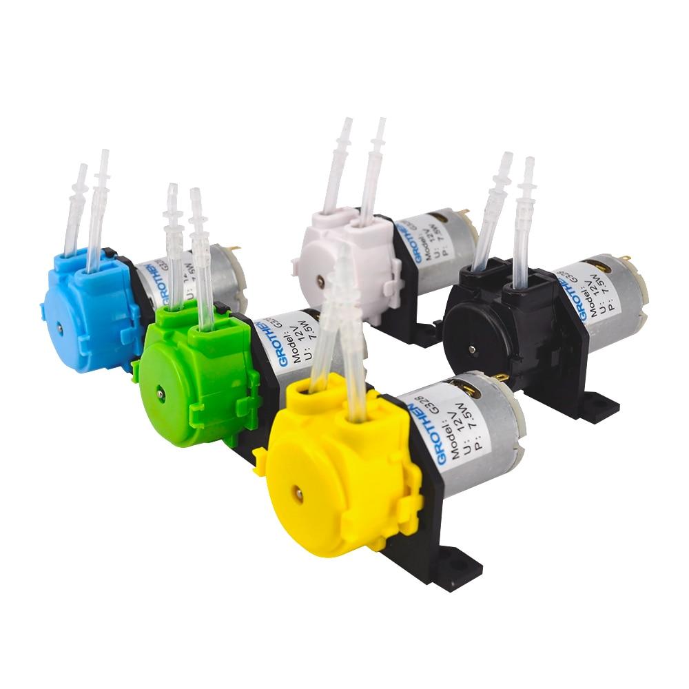 Water-Pump Liquids-Pump-Tool Dosing-Head Aquarium Peristaltic Analytical-Water 24V 12V