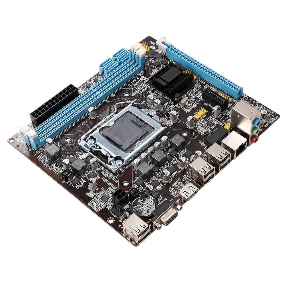 Veineda Originele H61-S Desktop Moederbord Socket Lga 1155 Voor Intel Core I3 I5 I7 DDR3 Geheugen 16G Uatx H61 pc Moederbord
