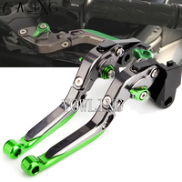 Adjustable Brake Clutch Lever Levers for Kawasaki Z1000 Z800 Z250/SL ZX6R ZX10R ER6N/F Z900 modified brake clutch handle