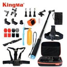 KingMa Gopro Hero 4 Session Accessories Selfie Stick Monopod Chest Belt Mount Floating Bobber for Camera Go pro hero 4 Session