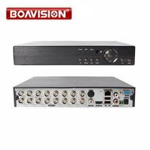 5 ב 1 AHD CVI TVI CVBS NVR 4Ch 8Ch 16Ch 1080N אבטחת CCTV DVR NVR XVR היברידי וידאו מקליט 1080 P Onvif מקס 4 TB P2P צפה