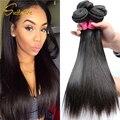 10 pacotes de cabelo virgem reta Mongol Mongol virgens ofertas bundle cabelo barato não transformados cabelo mongolian virgem do cabelo humano