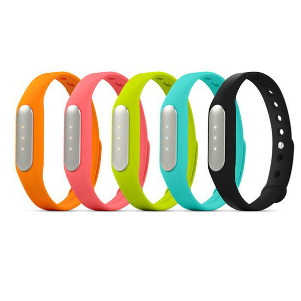 100% Original Xiaomi mi band Bracelet MiBand Bluetooth IP67 Waterproof Smart Wristbands for Android 4.4 Phones for iphone IOS7/8