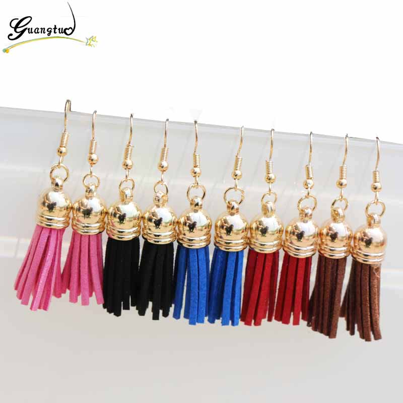 Fashion Tassel Drop Earrings For Women Jewelry Oorbellen Brincos Dangle Earing Accessories Bijoux Gift Simple Harajuku Style