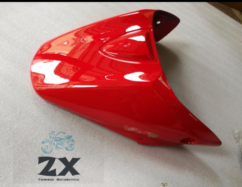 NEW Motorcyc Pillion Rear Seat Cover Cowl For DUCATI 796 795 M1100 696 red High Quality ABS Plastic ZXMT injections
