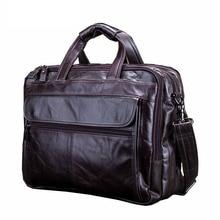 Nova Chegada bolsa do Couro Genuíno saco do Mensageiro Pacote Causal dos homens Bolsa de Ombro Laptop