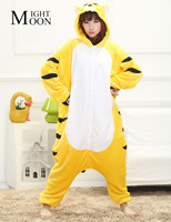 Tiger Animal Pajamas Unisex Pijama Adults Flannel Pyjamas Womens Sleep Tops Costume Onesies Robe