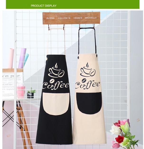 3 In 1 Breakfast Maker Parts Korean Version Fashion Sleeveless Men Women Dynamic Kitchen Cooking Apron Waterproof Oil Proof Vest Type Waistcoat