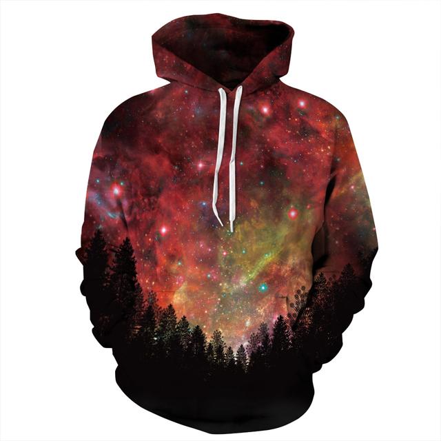 3D Space Galaxy Sweatshirt