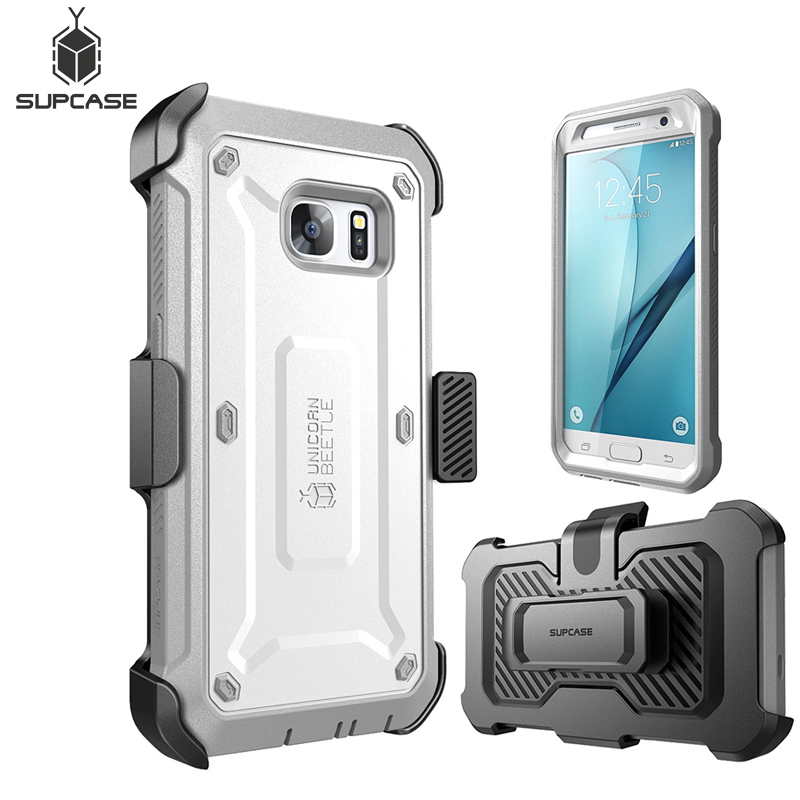 Image 2 - For Samsung Galaxy S7 Case SUPCASE UB Pro Series Full Body Rugged Holster Protective Cover Case WITH Built in Screen ProtectorFitted Cases   -