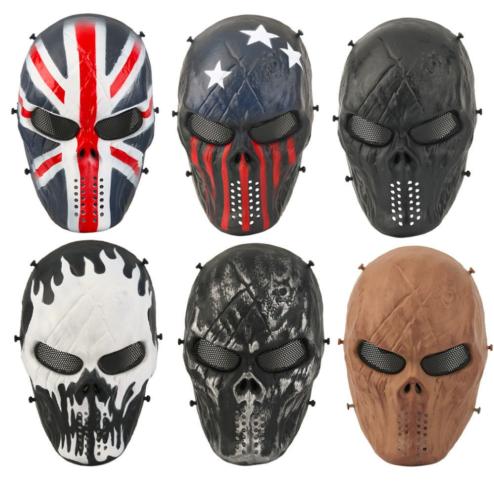 Online Buy Wholesale airsoft ghost mask from China airsoft ghost ...
