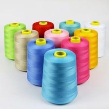 8000 ярдов швейная нить/полиэфирная швейная нить 40/2 высокоскоростная полиэфирная швейная нить